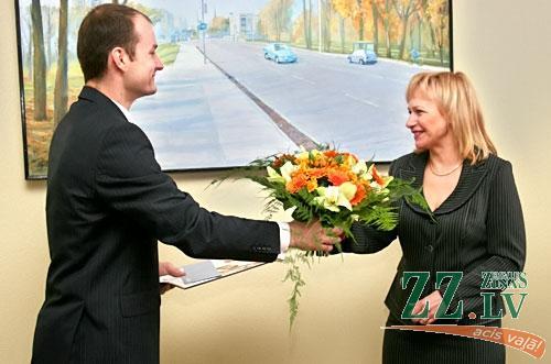 Raivis Mackevičs sveic 10000. GPON Jelgavā