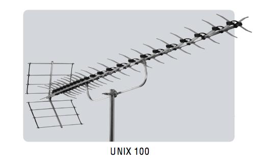 Decimetru antena ar stipru Virszemes TV signālu