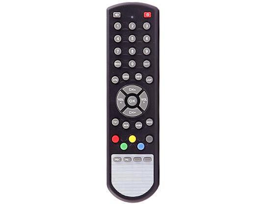 Digitālās TV dekodera pults